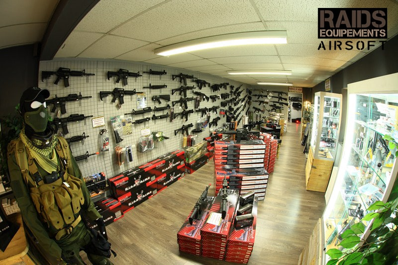 Magasin airsoft dijon raids equipement