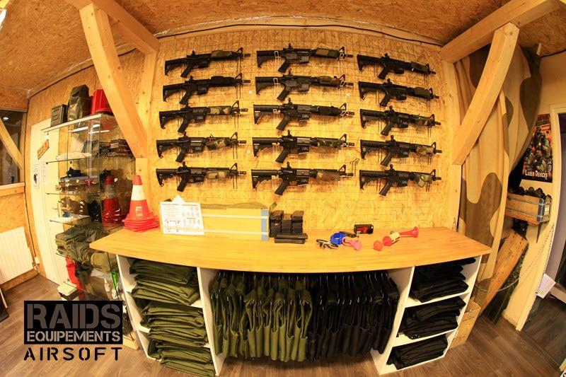 Boutique airsoft Dijon Raids Equipements